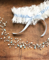 В-16_with_blue_ivory_beads_silver_1