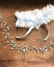 В-16_with_blue_ivory_beads_silver_2